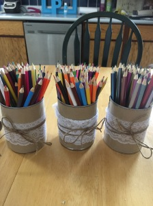 Pencil Crayon Holders