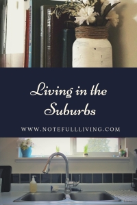 Living in the Suburbs