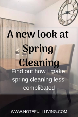 A new look at Spring Cleaning