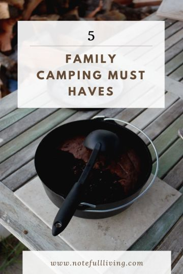 Family camping must haves
