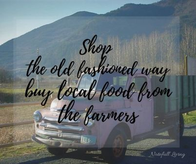 You do not have to live in the country to get the benefits of buying local food from the farmers.