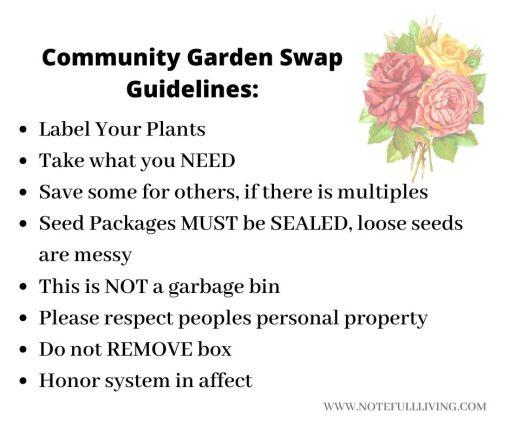 Community Garden Box